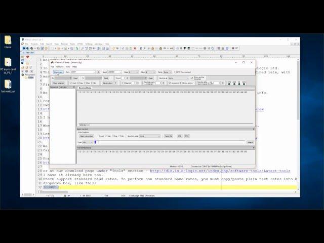 Digital Logic - Async UID sending feature new demo - uFR Series readers