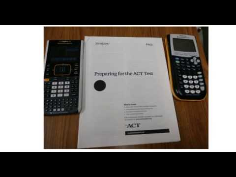 ACT Math Test Preparation 2016