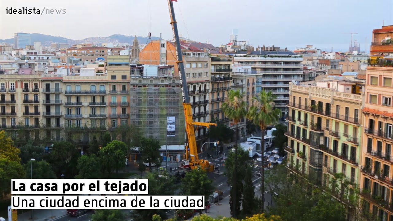 la casa por el tejado una ciudad encima de la ciudad
