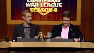 Clash of Clans Champions War League Season 4 Finals!
