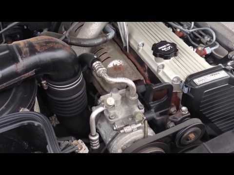 1HD-T Engine in an HDJ81