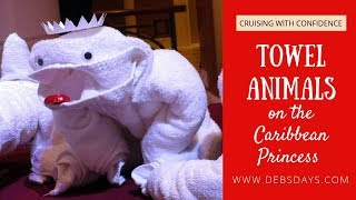 Caribbean Princess Towel Animals Demonstration