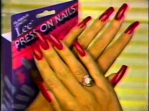 1986 Commercial For Active Length Lee Press On Nails