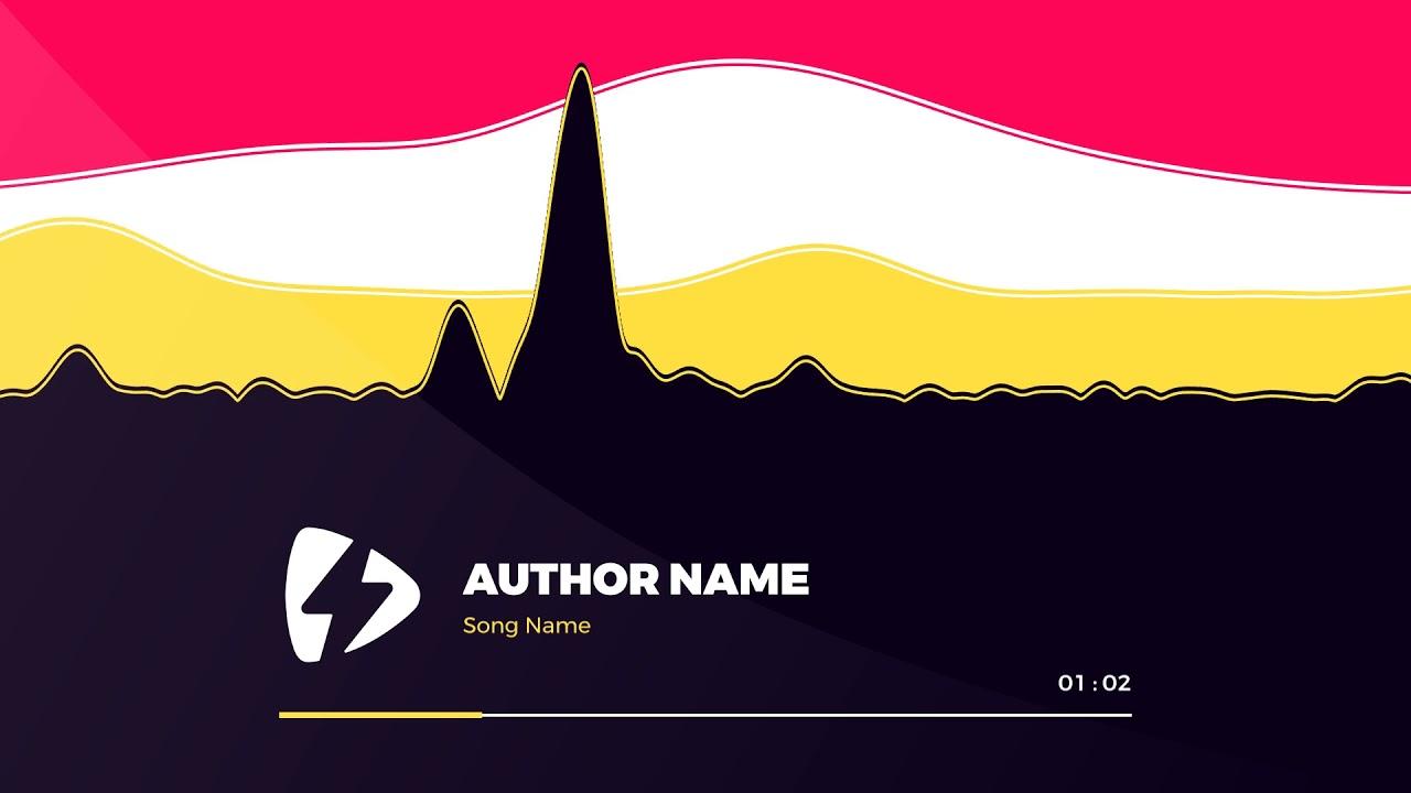 Modern Waves | Videobolt net Music Visualizer