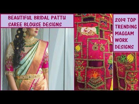 2019-bridal-pattu-saree-blouse-designs-||-beautiful-embroided-bridal-blouse-designs