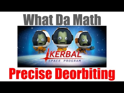 KSP - How to land at Kerbal Space Center - (Math + Phase Angles)