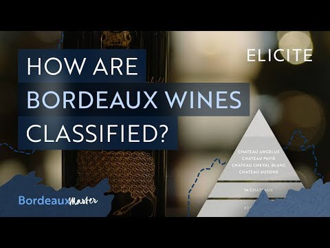 The Wine Classification Of Bordeaux