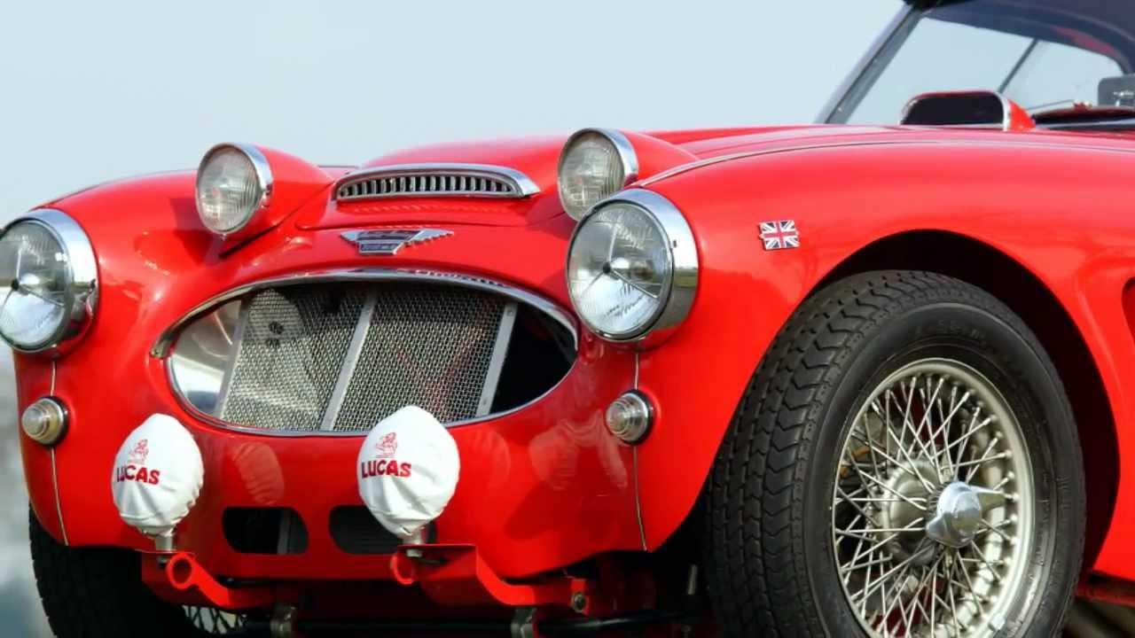 Austin Healey Mk Ii Rally Car Hd Photo Video With
