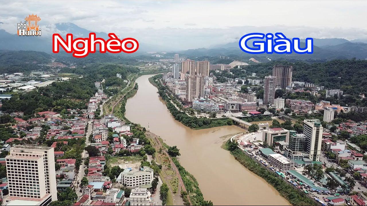Toàn cảnh Cửa Khẩu Lào Cai biên giới Việt Nam – Trung Quốc ai giàu ai nghèo #hnp