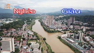 Toàn cảnh Cửa Khẩu Lào Cai biên giới Việt Nam - Trung Quốc ai giàu ai nghèo #hnp