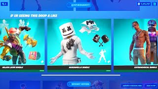 BUNDLES Item Shop Return..! (Marshmello, Major Lazer, Travis Scott) Fortnite Battle Royale