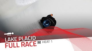 Lake Placid | BMW IBSF World Cup 2018/2019 - Men's Skeleton Heat 1 | IBSF Official