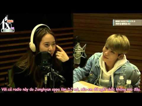 [Vietsub] 151111 f(x) Krystal - MBC Blue Night Radio with Jong Hyun {f(x) VN Subteam}