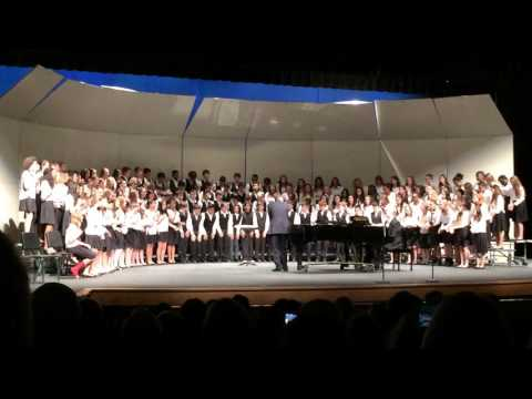 North Bethesda Middle School Winter Choir Concert 2015 - NK3 Part 3