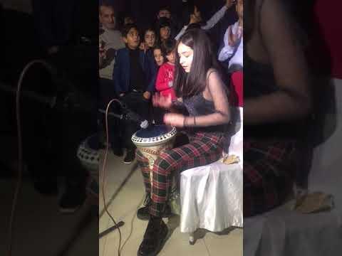Arabic Remix - Fi Ha (burak Balkan ) ---maria Abulashvili __darbuka Show