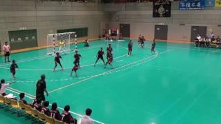 2016年 全国小学生ハンドボール大会 女子決勝戦 小松ジュニアHBCvs浦城小HBC