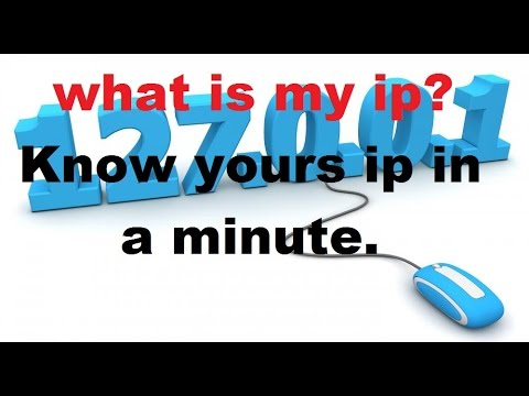 What is my ip - how to know what is my ip address fast and easy