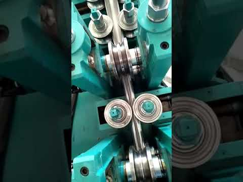 Tube Mill For Stainless Steel (SS) Working Video Demo - Shivam Engineering Manufacturer Ahmedabad