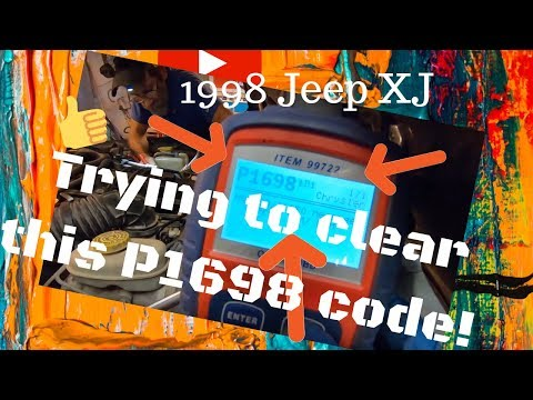 1998 Jeep XJ P1698 No CCD Bus trouble code