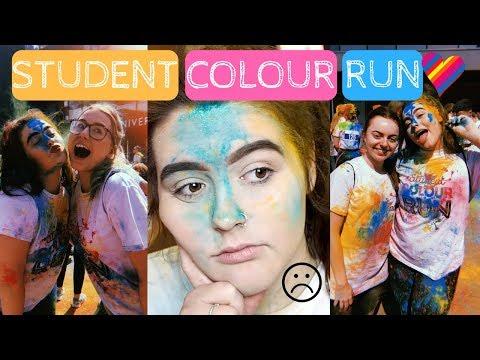 UNI VLOG | Student Colour Run & University Drama...