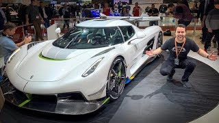 INSANE FEATURES OF THE KOENIGSEGG JESKO! thumbnail