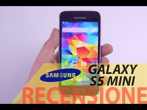 Samsung Galaxy S5 Mini, recensione in italiano