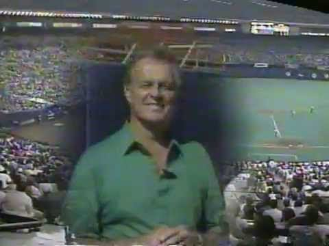 Los Angeles Dodgers at Montreal Expos 07 02 1993 Don Drysdale's last game