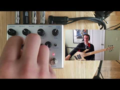 3 Leaf Audio Chromatron Bass Demo (state variable envelope filter)