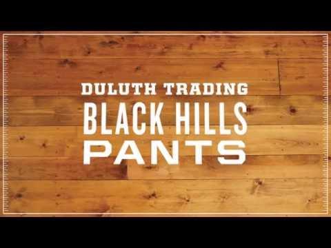 Duluth Trading Women's Black Hills Pants