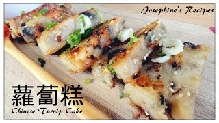 Chinese Dim Sum Recipe  蘿蔔糕 Chinese Turnip Cake