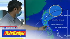 Several provinces under Signal number 3 as typhoon Ambo moves closer | Teleradyo