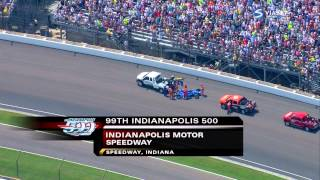 Indycar 2015. Round 6. Indianapolis 500. Race [Part 2⁄2]