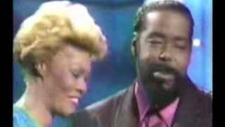 Dionne Warwick - Never Gonna Give You Up Duet with Barry White
