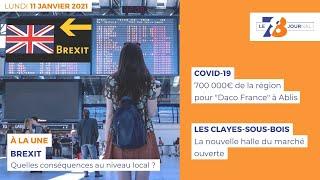 7/8 Le Journal. Edition du 11 janvier 2021