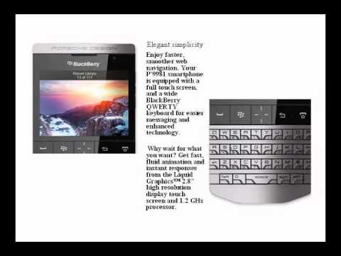 BlackBerry Porsche Design P'9981 Smartphone Review.wmv
