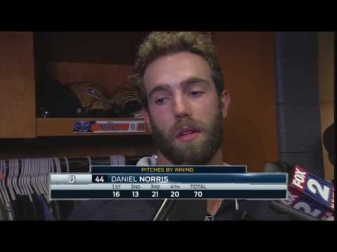 Daniel Norris Hits Interviewer With The WORD!