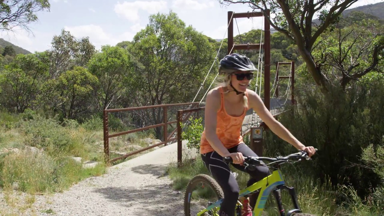 Thredbo Mountain Bike Park: Thredbo Valley Trail