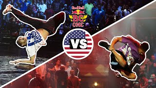 Lilou vs Morris - Red Bull BC One 2009