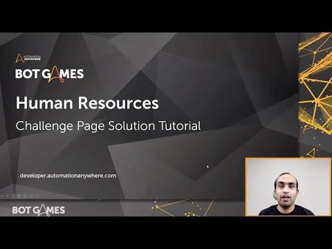 Bot Wars - Human Resources Challenge Solution Tutorial