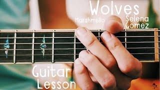 wolves selena gomez guitar lesson for beginners // wolves guitar tutorial!