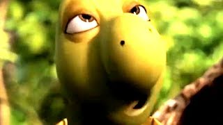 Over The Hedge Verne eating bark but every Crunch is 9db Louder
