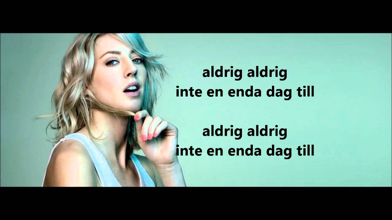 Veronica Maggio - Välkommen in [Lyrics] - YouTube