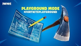 HOW TO PLAY PLAYGROUND MODE NOW IN FORTNITE!!!