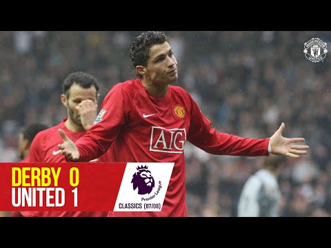 Derby County 0-1 Manchester United (07-08) | Premier League Classics | Manchester United