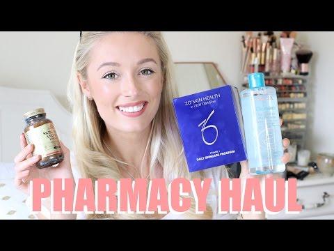 PHARMACY HAUL!   |   Skincare, Vitamins & Makeup!   |    Fashion Mumblr
