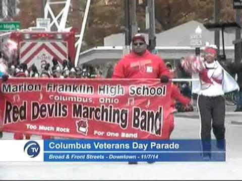 City of Columbus 2014 Veterans Day Parade - YouTube