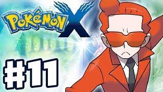 Pokemon X and Y - Gameplay Walkthrough Part 11 - Team Flare (Nintendo 3DS)