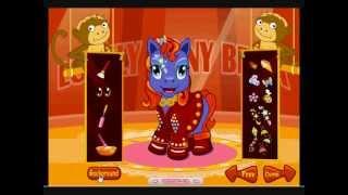 Bella pony da circo - Giochi di Cavalli