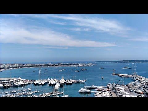 Cannes - Castre Museum Tower view (Museé de la Castre)