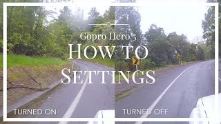 Gopro Hero 5 Black - How to settings